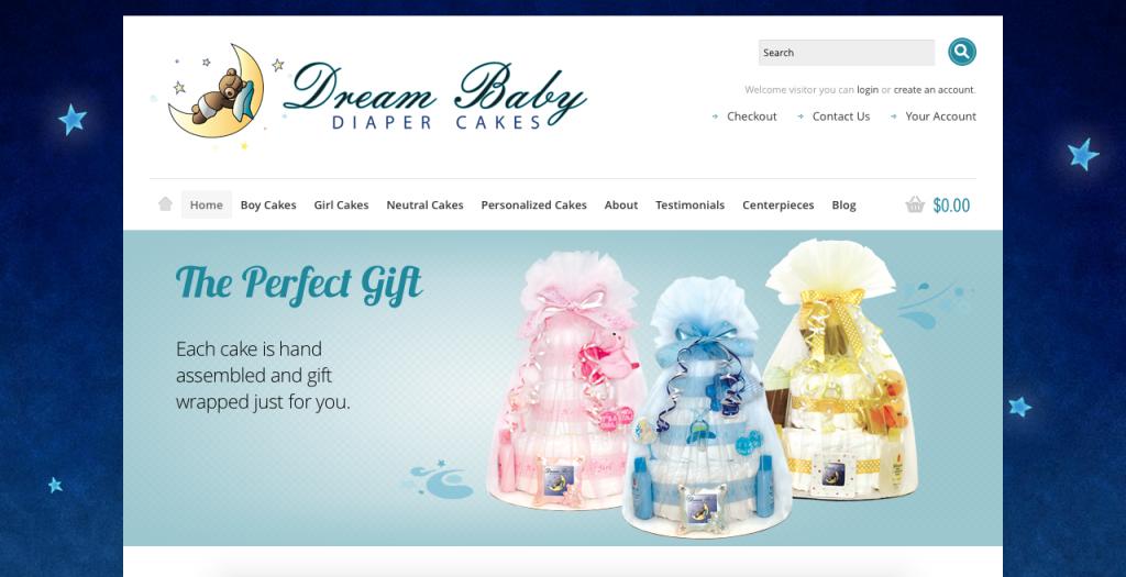 Dream Baby Diaper Cakes