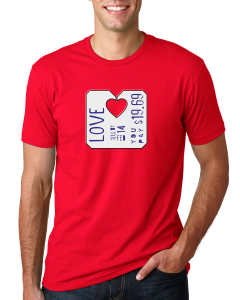 mens valentines day shirt red - Valentine Day Shirts