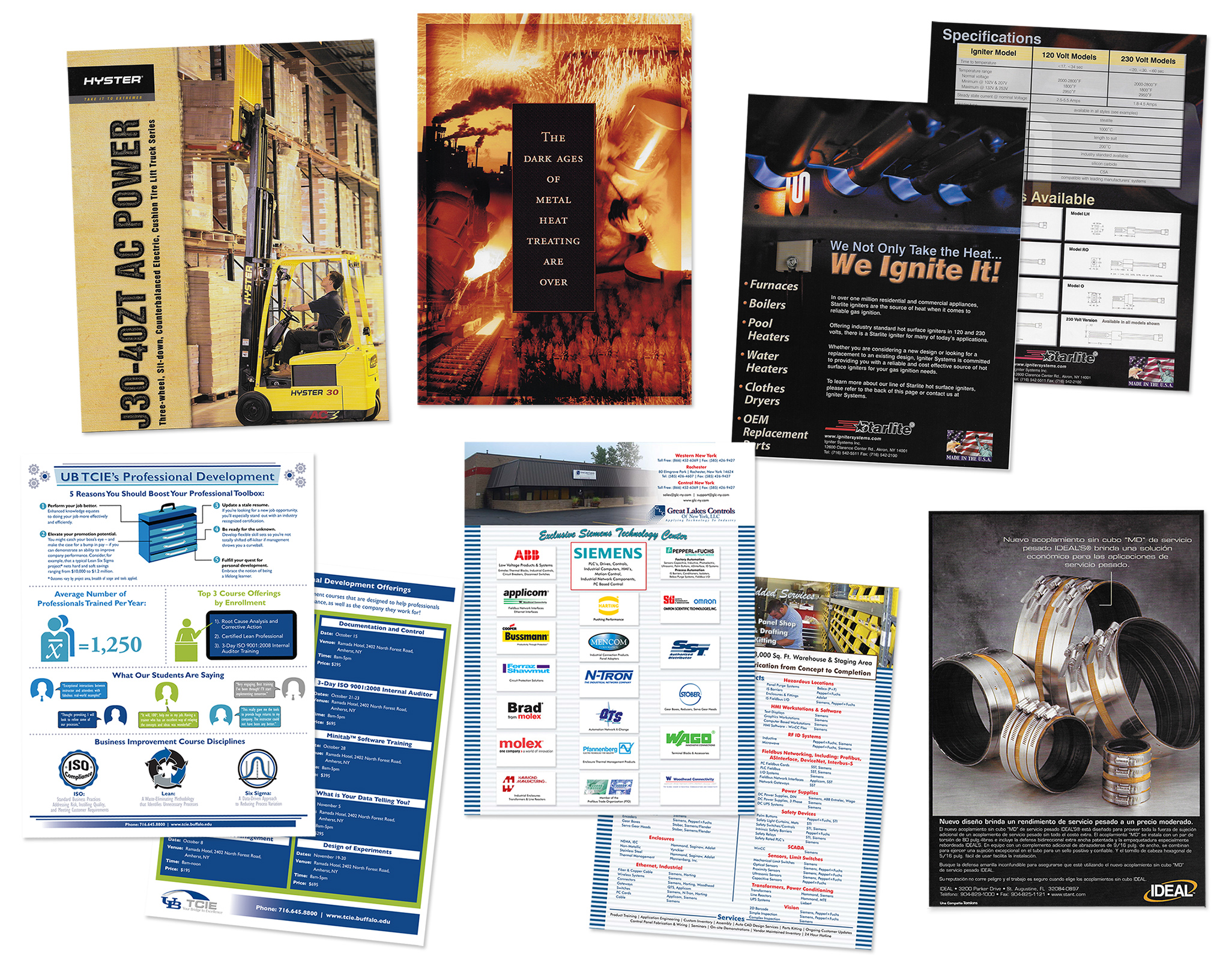 Sales Literature for OEMs